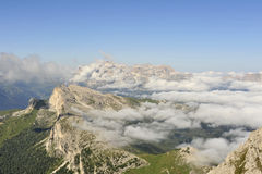 Mountain landscape in Italian Alps. Stock Photos