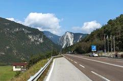 Mountain landscape in Italian Alps Stock Photography