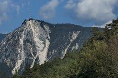 Mountain landscape  in Italian Alps during autumn Stock Photo