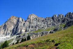 Mountain landscape, italian alps Dolomiti Stock Photo
