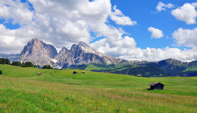 Mountain landscape in Italy Royalty Free Stock Image
