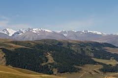 Mountain landscape of Kazakhstan Royalty Free Stock Image