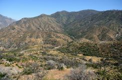 Mountain landscape in Kings Canyon National Park, CA, USA Stock Photo