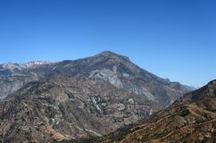 Mountain landscape in Kings Canyon National Park, CA, USA Stock Image