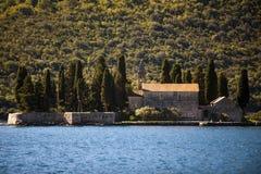 Mountain landscape of Kotor bay, Montenegro. royalty free stock image