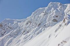 Mountain landscape of Krasnaya Polyana, Sochi Stock Images