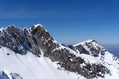 Mountain landscape of Krasnaya Polyana, Sochi Stock Image