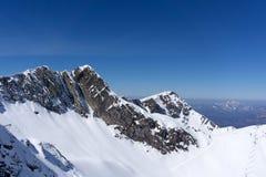 Mountain landscape of Krasnaya Polyana, Sochi Stock Photo