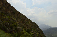 Mountain landscape,  Kyrgyzstan Stock Image