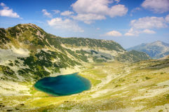 Mountain landscape with lake Royalty Free Stock Image