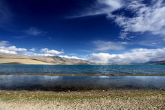 Mountain landscape with lake. Himalayas Stock Photos