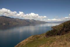 Beautiful mountain landscape with lake Stock Photos