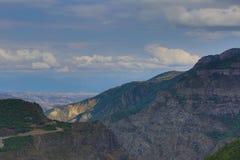 Mountain landscape. The landscape in Armenia (Tatev). Royalty Free Stock Image
