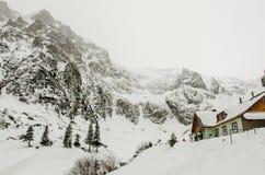 Mountain landscape, Malaiesti cabi Royalty Free Stock Images