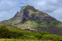 Mountain landscape in Mauritius Royalty Free Stock Photos