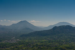 Mountain Landscape - Montecassino Italy Stock Photo