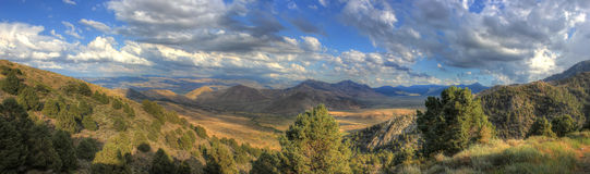 Mountain panorama, America Royalty Free Stock Photo