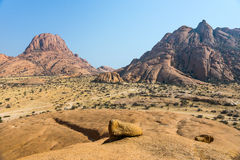 Mountain landscape in Namibia Royalty Free Stock Image