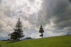 Mountain landscape. A mountain landscape, near Cheile Gradistei, Romania Stock Photo