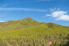 Mountain landscape near Nerja, Spain. Stock Photos