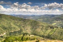 Mountain landscape. Near the village of Samaipata, Bolivia Royalty Free Stock Photography