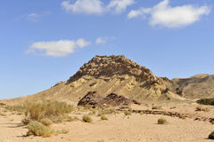 Mountain landscape, Negev. Royalty Free Stock Image