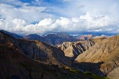 Mountain landscape in the Nepal Himalaya Stock Image