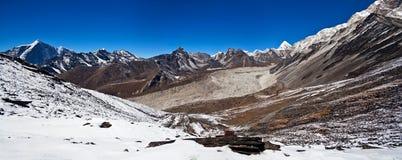 Mountain landscape in Nepal Himalaya Stock Image