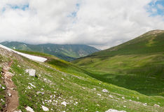 Mountain landscape. North Caucasus, Russia Royalty Free Stock Images
