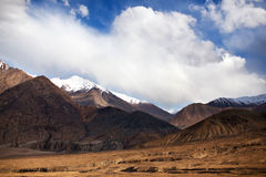 Mountain landscape in Nubra Valley, Ladakh Royalty Free Stock Photo