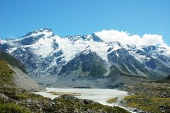 New Zealand Mountains Stock Photography