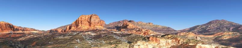 Mountain landscape, panorama, banner. Stock Image