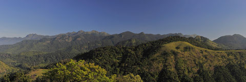 Mountain landscape panorama Stock Image