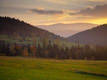 Mountain landscape panorama, beauty of nature Stock Photos