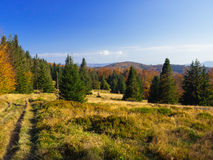 Mountain landscape panorama, beauty of nature Stock Photography