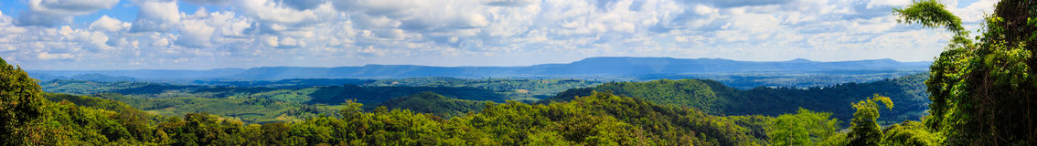 The mountain. Mountain landscape panorama in thailand Stock Photos