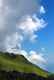 Mountain landscape panoramic Stock Photos