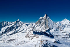 Matterhorn, Zermatt, Switzerland Royalty Free Stock Photography