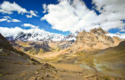 Mountain landscape of Peru Stock Photos