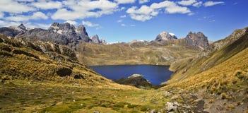 Mountain landscape of Peru Stock Image