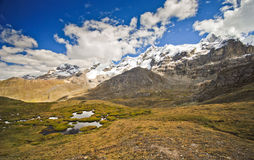 Mountain landscape of Peru Stock Photography