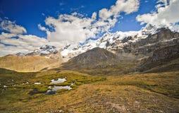 Mountain landscape of Peru Stock Photography