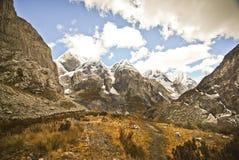Mountain landscape of Peru Royalty Free Stock Photos
