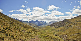 Mountain landscape of Peru Royalty Free Stock Image
