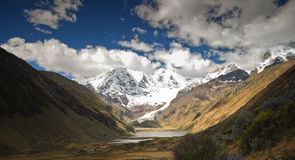 Mountain landscape of Peru Royalty Free Stock Images
