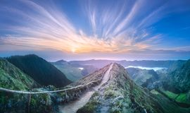 Free Mountain Landscape Ponta Delgada Island, Azores Stock Photography - 122147162
