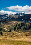 Mountain landscape in Pyrenees, France. Scenic mountain landscape in Pyrenees, France Stock Photography