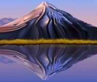 Mountain landscape reflection Stock Image