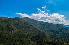 Mountain landscape. A mountain landscape - Rhodopi mountain Royalty Free Stock Photos
