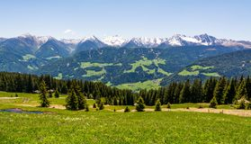 Mountain landscape. Ridanna Valley, South Tyrol, Trentino Alto Adige, Italy. Mountain landscape. Ridanna Valley, South Tyrol, Trentino Alto Adige, northern italy royalty free stock images